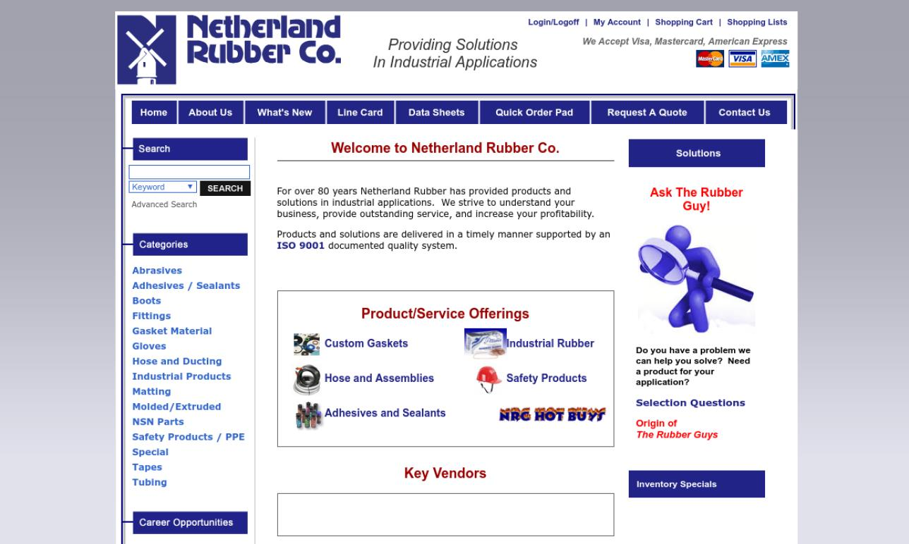 Netherland Rubber Co.