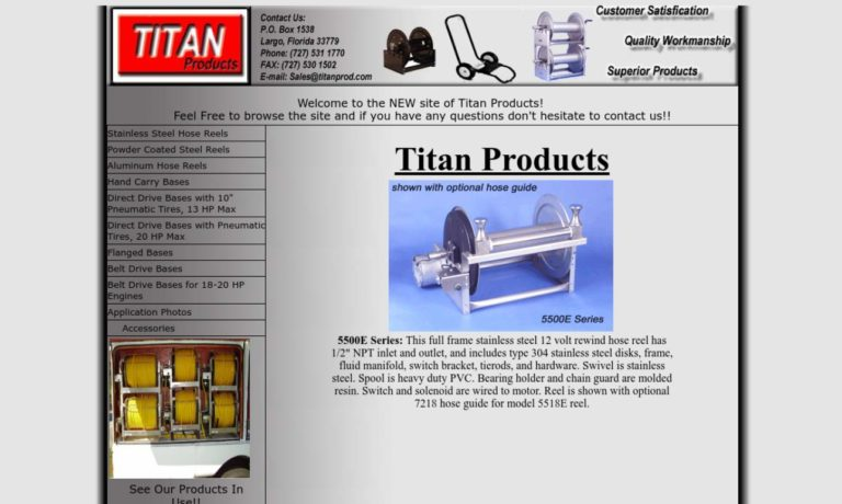 Titan Products, Div of PCM